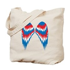 Angel Wings USA Tote Bag
