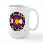Colorado Mason Large Mug