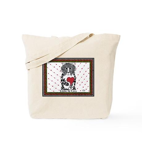 Eddie In Love Tote Bag