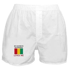 My Guinean Boyfriend Loves Me Boxer Shorts