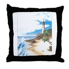 Lighthouse Cove Throw Pillow