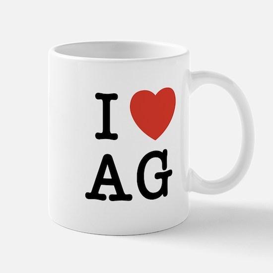 I Heart AG Mug