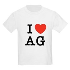 I Heart AG T-Shirt