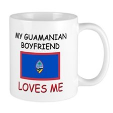 My Guamanian Boyfriend Loves Me Mug