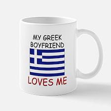 My Greek Boyfriend Loves Me Mug