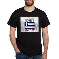 My Greek Boyfriend Loves Me T-Shirt
