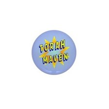 Torah Maven Mini Button
