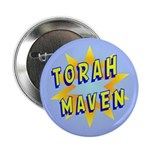 "Torah Maven 2.25"" Button (10 pack)"