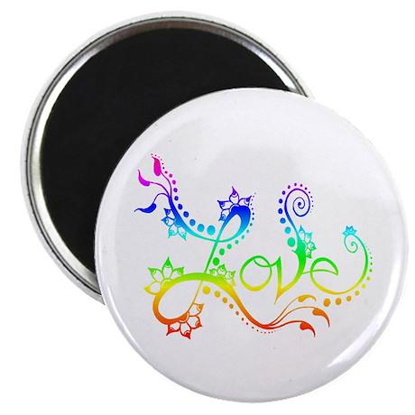 Love /rainbow Magnet