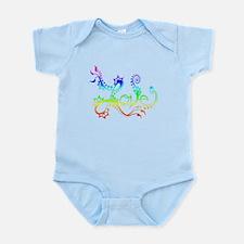 Love /rainbow Infant Bodysuit