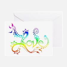 Love /rainbow Greeting Card
