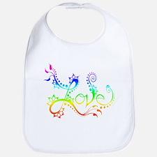 Love /rainbow Bib