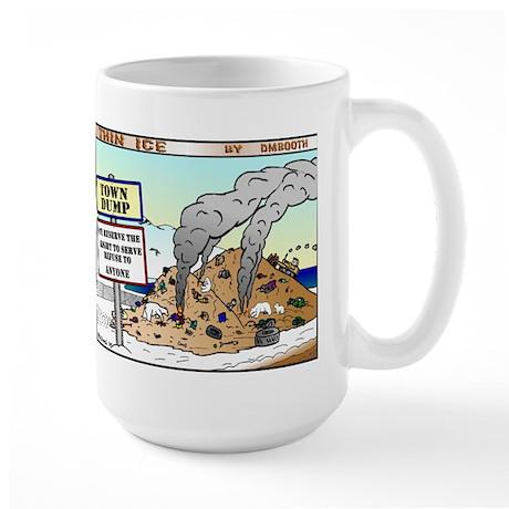 BEARS AT THE DUMP Large Mug
