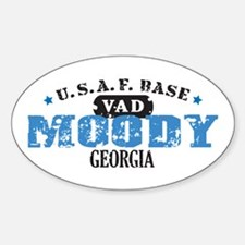 Moody Air Force Base Oval Decal