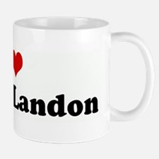 I Love Matt & Landon Mug