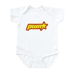 Pwn Star Infant Bodysuit