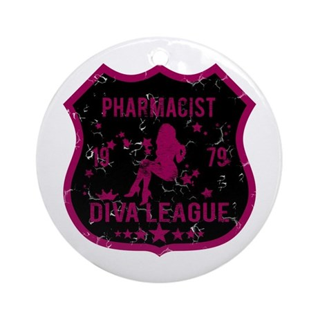 Pharmacist Diva League Ornament (Round)
