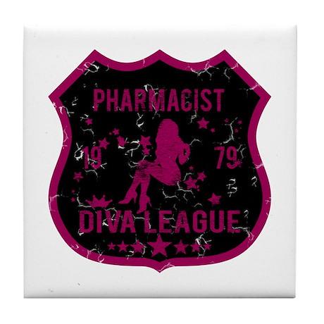 Pharmacist Diva League Tile Coaster