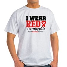 I Wear Red Wife T-Shirt