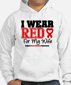 I Wear Red Wife Hoodie
