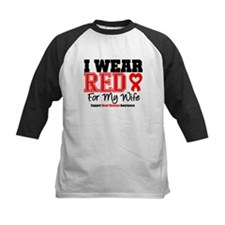 I Wear Red Wife Tee
