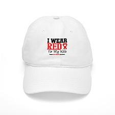 I Wear Red Wife Baseball Cap