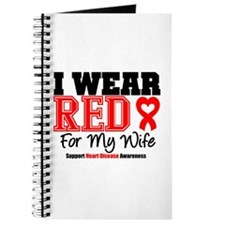 I Wear Red Wife Journal