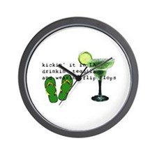 Cool Tequila Wall Clock