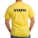 Staph Mens Classic Yellow T-Shirts
