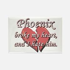 Phoenix broke my heart and I hate him Rectangle Ma