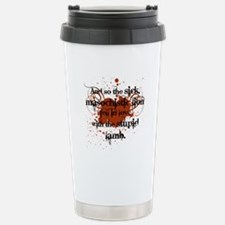 Sick Masochistic Lion Travel Mug