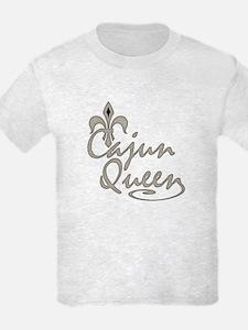 Cajun Queen Fleur De Lis T-Shirt