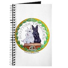 Scottish Terrier Crest Journal
