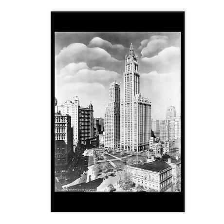 Vintage 1939 New York Photograph Postcards (Packag