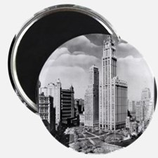 Vintage 1939 New York Photograph Magnet
