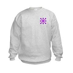 Purple Jacks Sweatshirt