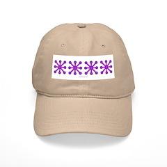 Purple Jacks Baseball Cap