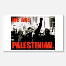 FREE PALESTINE Rectangle Decal