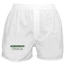 Green ITHACA Boxer Shorts