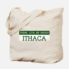 Green ITHACA Tote Bag