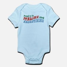 Proud Italian and Argentinian Infant Bodysuit