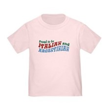 Proud Italian and Argentinian T