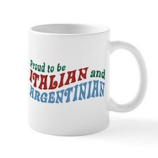 Proud Italian and Argentinian Mug