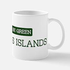 Green GALAPAGOS ISLANDS Mug