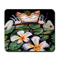 Cat Art~ The Great Escape Mousepad