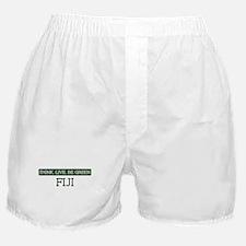 Green FIJI Boxer Shorts