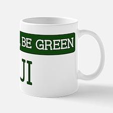 Green FIJI Mug