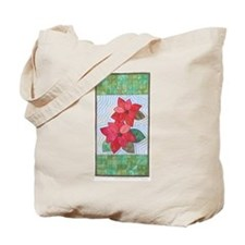 Botanical Collections Poinsettia Tote Bag