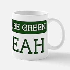 Green HIALEAH Mug