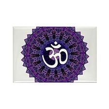 Third Eye OM Rectangle Magnet (10 pack)